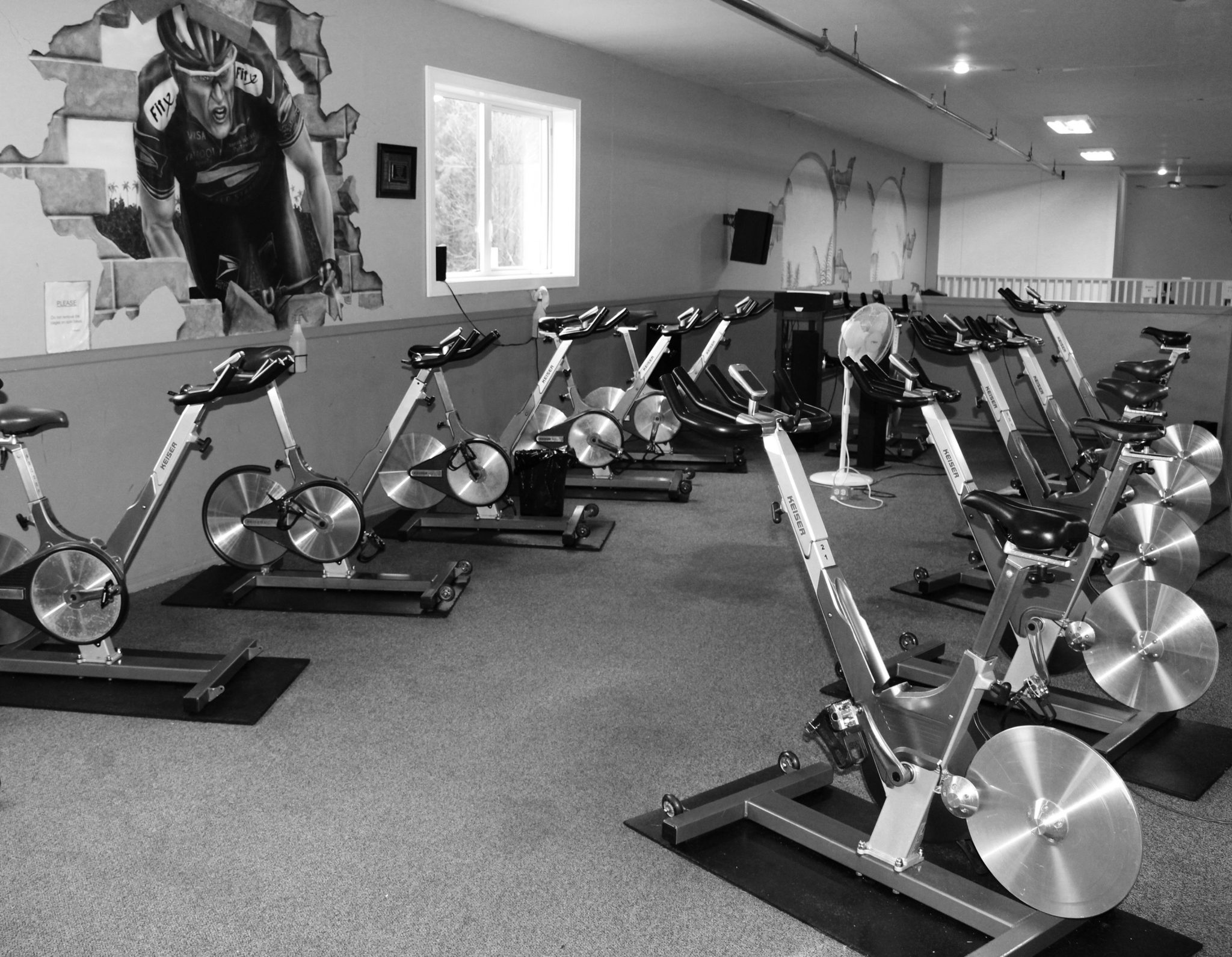 Spin Classes at Fitness excellence in Courtenay BC